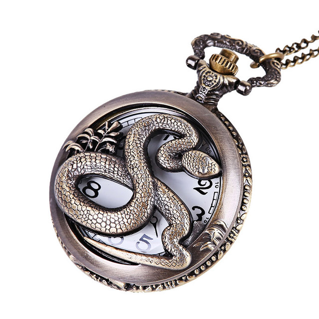 #5001 Fashion Creative Man Watch Vintage Chain Retro The Greatest Pocket Watch N