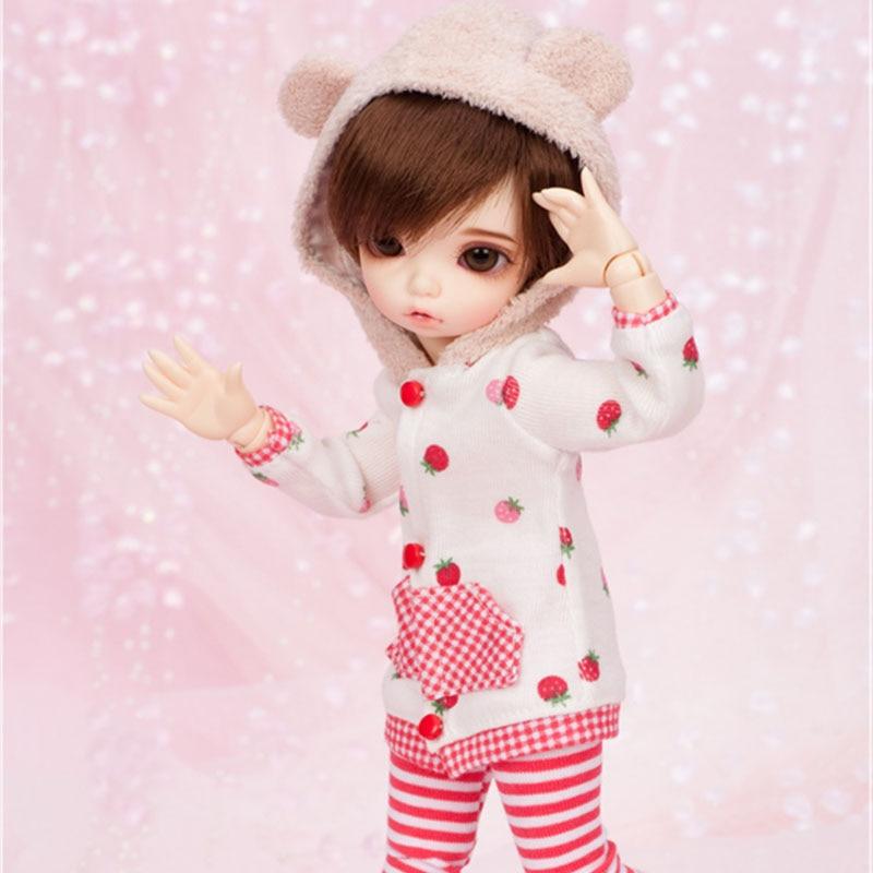 OUENEIFS Fairyland littlefee Bisou 1/6 bjd sd dolls model reborn girls boys eyes High Quality toys makeup shop resin
