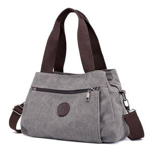 HANMEI Korean shoulder bag Casual canvas women handbags a437346db69cb