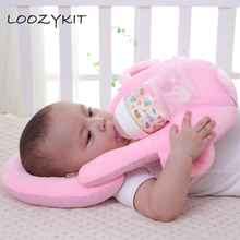 LOOZYKIT подушки для кормления ребенка, аксессуары для кормления грудью, моющаяся крышка, регулируемая модельная детская подушка, подушка для младенцев, уход за ребенком