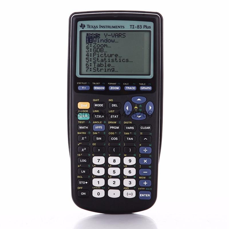 2016 texas instruments new ti 83 plus graphing calculator sale allowed for use on the psat sat i sat ii math ic and iic ap chemistry ap physics and ap calculus exam urtaz Images