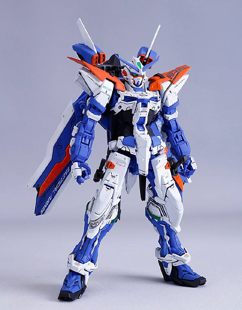 Dragon Momoko model 1 100 MG MBF P03 Astray Blue Frame Third Gundam DL026