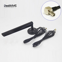 4G LTE Antenna 18dbi With 2x 3m Cables Extension TS9 Connector HUAWEI Modem E3131 E586 E589