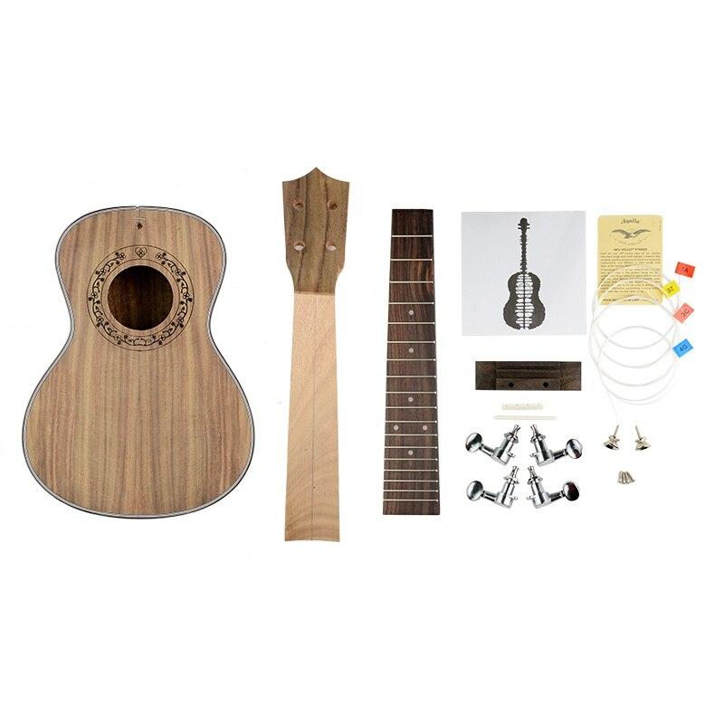 buy new build your own ukulele diy koa ukulele kit unfinished concert ukulele. Black Bedroom Furniture Sets. Home Design Ideas