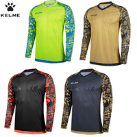 Kelme חולצות כדורגל שוער clothing שומרי סף אימון שוער כדורגל ג 'רזי ילדים כדורגל גברים שרוול ארוך k080