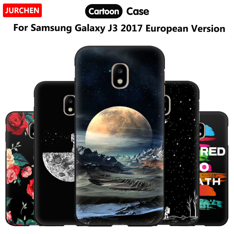 Galleria fotografica JURCHEN Coque For Samsung Galaxy J3 2017 European Version Case Silicone Phone Case For Samsung Galaxy J3 2017 J330 Back Cover 5