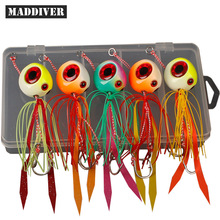 60g 100g 120g 150g 200g Tai Kabura Slider Jig Sinker Lead Jigging Lures Tai Rubbers Red Snapper Sea Fishing Baits Boat Angling