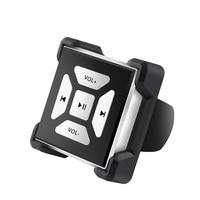 Lonleapワイヤレスbluetoothメディアボタン音楽キットステアリングbluetoothリモートシャッターコントローラー用iphoneのandroidスマートフォ