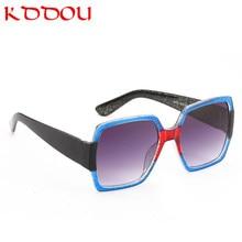 2018 new sunglasses women Square large frame vintage men retro Brand designer shades for oculos de sol feminino