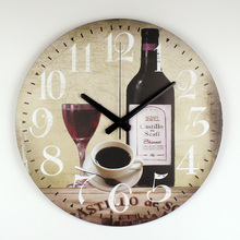 Dining Hall Large Decorative Silent Wall Clocks Warranty 3 Years Modern Design Home Decoration Kitchen Wall Watches Clocks