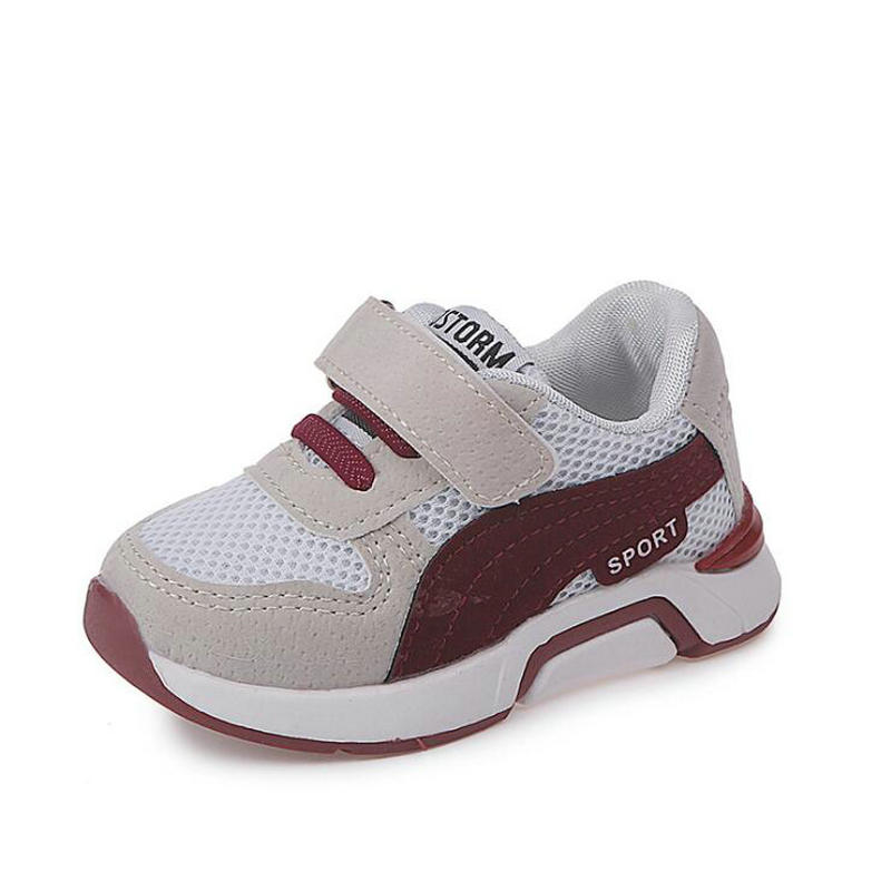 Kids Boys Shoes Girls Sneakers New Spring Autumn Net Breathable Sport Running Baby Boys Shoes Soft Outdoor Shoes EU 21-30