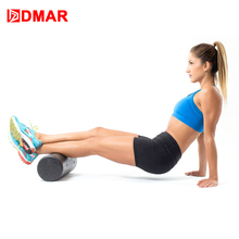 DMAR 30/45/60cm Yoga Block Roller Eva Fitness Foam Roller Massage Pilates Body Exercises With Trigger Points Training Gym Home цены онлайн