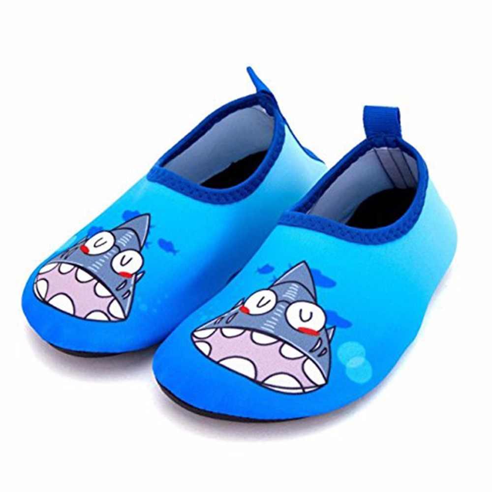 33829746ba JACKSHIBO nueva verano niños zapatillas natación Aqua zapatos playa  zapatillas para zapatos de agua niño niños