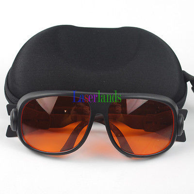 190-540nm 514nm,515nm,520nm,532nm UV Blue Green Laser Protective Goggles Safety Glasses CE OD4+ OD5+ SK-1-S1