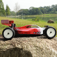 VKAR гоночный Радиоуправляемый автомобиль 1:10 80 км/ч 2,4 ГГц 2CH 4WD бесщеточная, высокая скорость Электроника дистанционного Управление Монстр ав