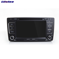 Liislee For Skoda Octavia Car Navigation GPS Android System Multimedia Audio Video Player WIFI HD Touch Screen