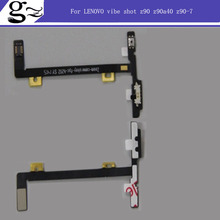 High Quality New Camera Button Key Flex Cable For LENOVO vibe shot z90 z90a40 z90-7 z90-3 z90-a z90a Parts