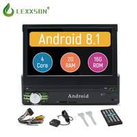 Car Radio Stereo Android 8.1 Quad Core Universal 1Din 7 Touch Screen Car GPS AutoRadio Player BT WIFI Mirror Link FM AM (no dvd