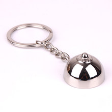 Female breasts Key Chain for Lovers Metal Sexy boob Keyring Individual Keychains Woman Gifts Man Key Ring Holder(China)