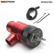 Гоночный автомобиль красный и черный интеркулер рециркуляции предохранительный клапан BOV комплект для Subaru WRX 2.0L Turbo 15-17 EPFBOV1093