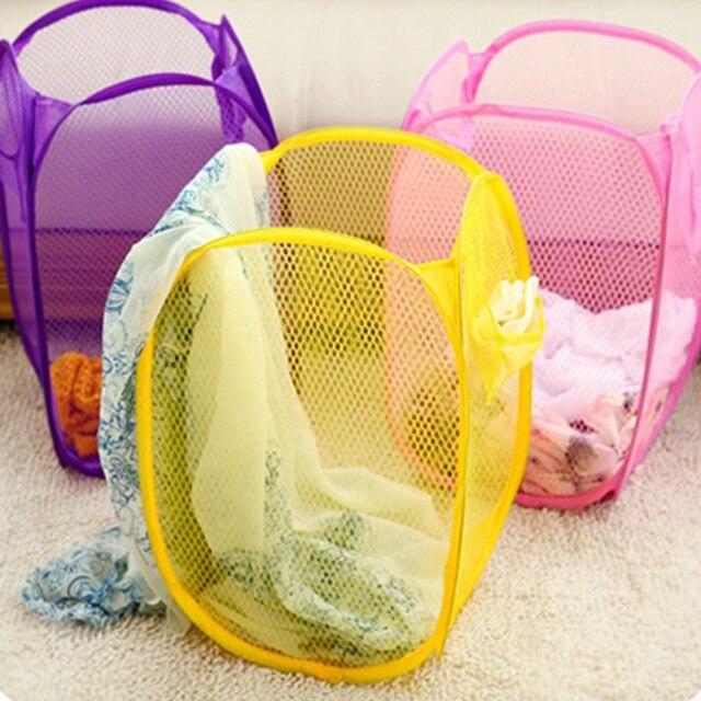 Home Storage Organization Dirty Clothes Basket Storage Basket Clothing Foldable Laundry Clothes Basket Novelty Candy HG0123