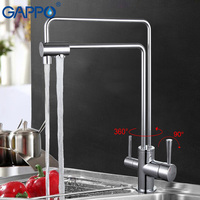 GAPPO 1set Water Mixer Tap Kitchen Sink Faucet Torneira 360 Brass Kitchen Mixer Drinking Water Saver
