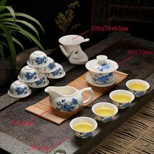 Chinese Kung Fu Tea Set Vintage Landscape Painting Tea Set Ceramic Home Office Flowers Birds Horse Animal Print Tea Pot Set 2019 diy colorings pictures by numbers with colors vintage flowers and birds picture drawing painting framed home