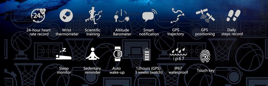 DTNO.1 F5 GPS Smart watch (2)