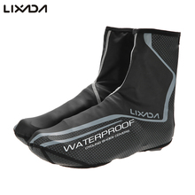 Lixada Outdoor Sport Shoe Cover Thermal MTB Mountain Bike Waterproof Windproof Overshoes Protector Cycling Bicycle Shoe Covers
