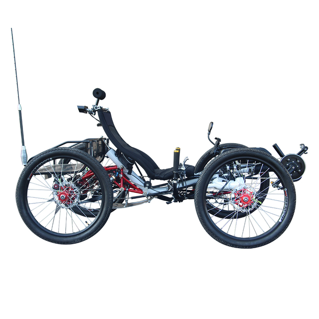 US $7649 0 |4WD Sport Utility 500watt Mid Drive Motor Aluminum Alloy Frame  Recumbent Quad-in Bicycle from Sports & Entertainment on Aliexpress com |
