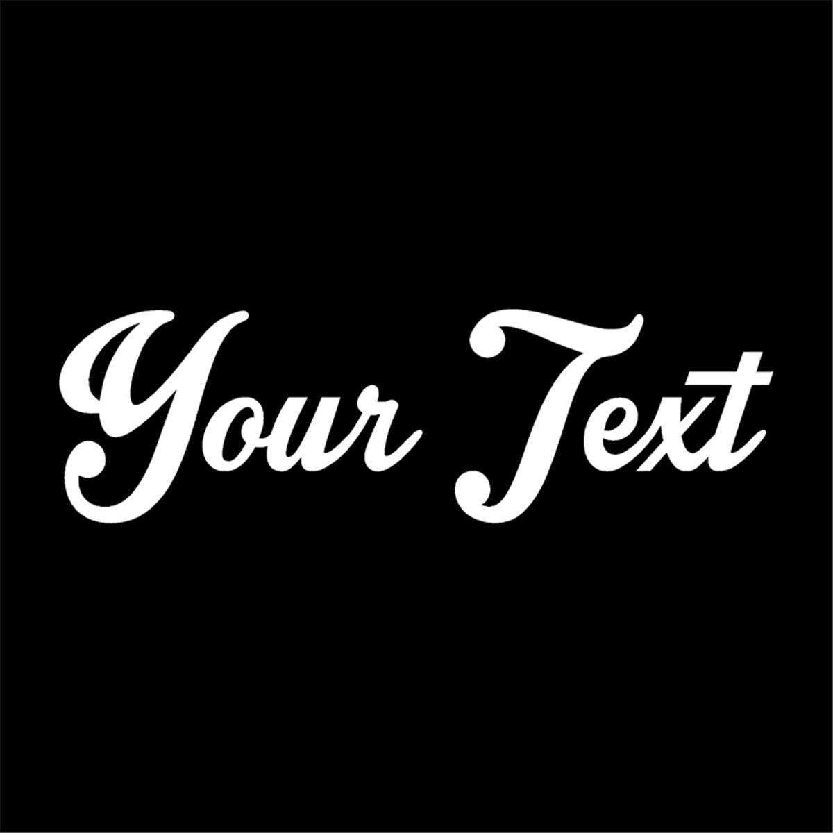 "Your Text Vinyl Decal Sticker Car Window Bumper CUSTOM 8"" Personalized Lettering(China)"