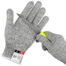 HPPE перчатки с защитой от порезов, безопасные, устойчивые к ногам, для кухни, мясника, устойчивые к порезу, охотничьи перчатки