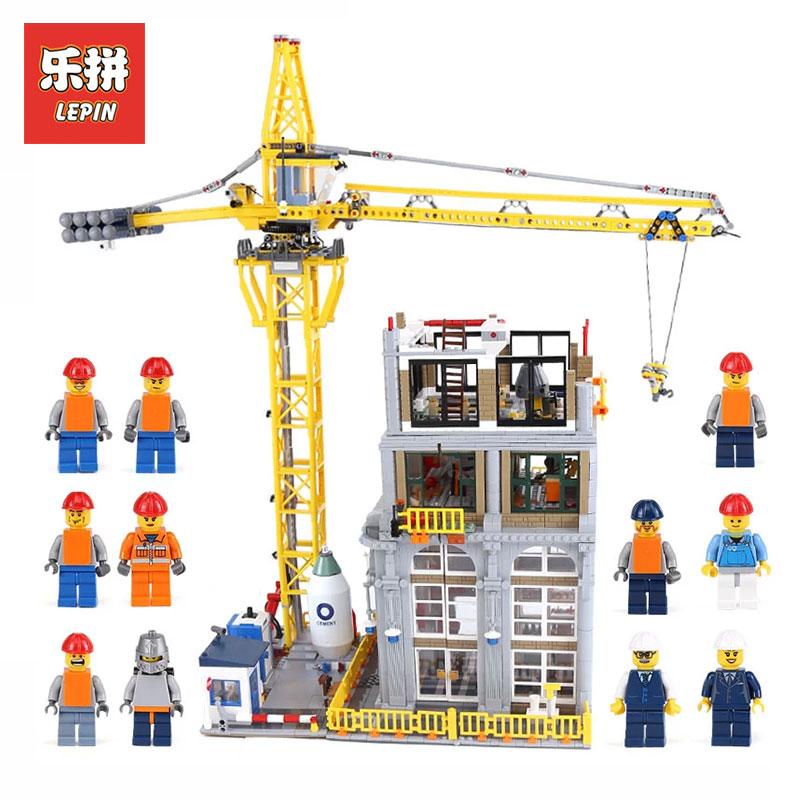Лепин 15031 4425 шт. натуральная MOC серии классический строительной площадке Модель Строительство комплекты блоки LegoINGlys кирпичи игрушки подаро