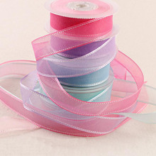 30 Meters 25mm Chiffon Bow Ribbon Handmade Hair Accessories Gift Wrap Webbing DIY Craft Materials
