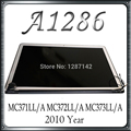 2010 Year A1286  Original LCD Screen Display Assembly 661-5478 MC371LL/A MC372LL/A MC373LL/A For Macbook Pro 15'' 100% Test OK