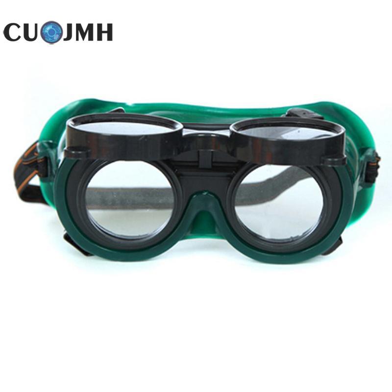 Solder Welding Goggle Welders Protection Sunglasses Anti Shock Labor Insurance Double Turn Welding Labor Protection Glasses