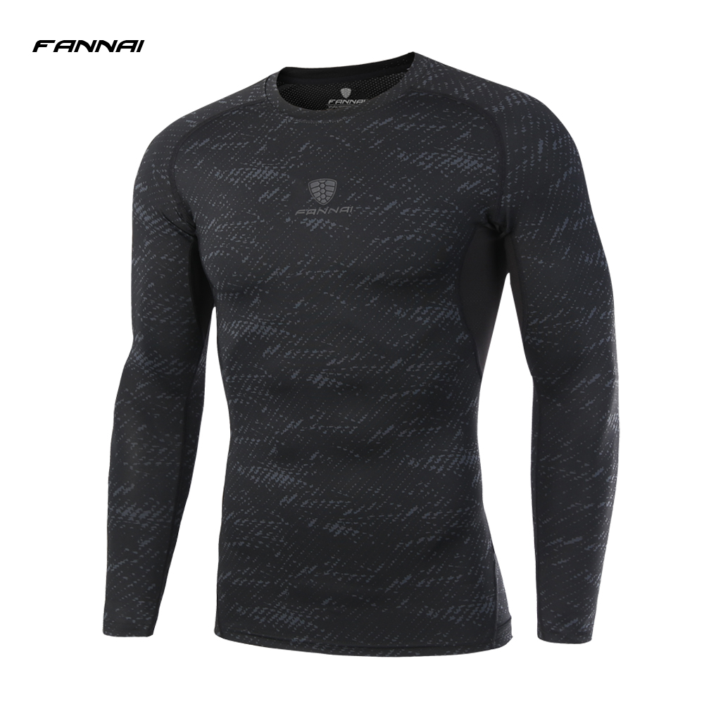 Men Long Sleeve fitness Basketball Running Sports T Shirt Men Thermal Muscle Gym Bodybuilding Compression Tights Tees New arrive 2016 boys running pants soccer trainning basketball sports fitness kids thermal bodybuilding gym compression tights shirt suits page 2