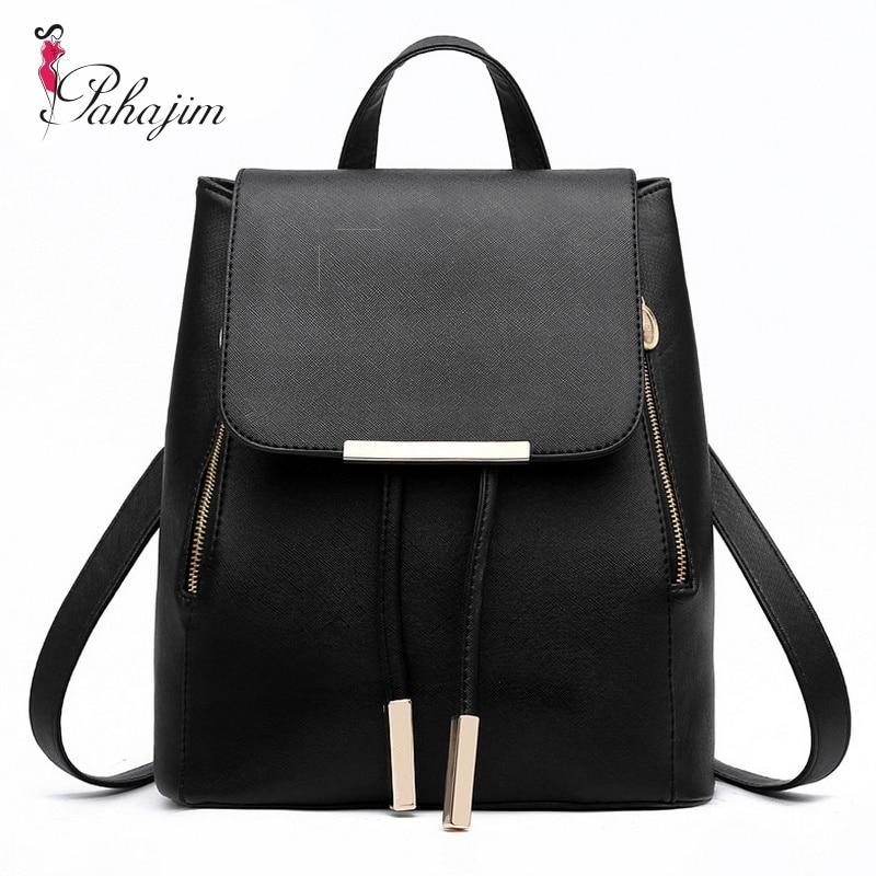 Pahajim 2018 Most Cost-effective Backpack New Arrival Vintage Women Shoulder Bag Girls Fashion Schoolbag High Quality Women Bag