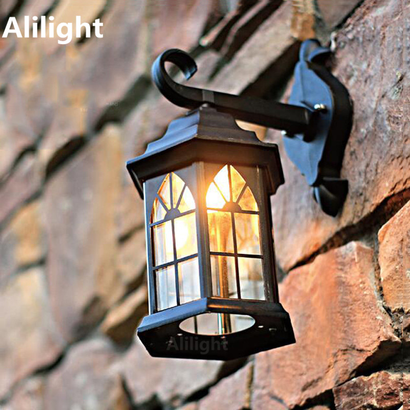 mediterranean outdoor lighting. retro europe waterproof outdoor lighting wall light mediterranean foyer lamp industrial sconce porch lights home decor i