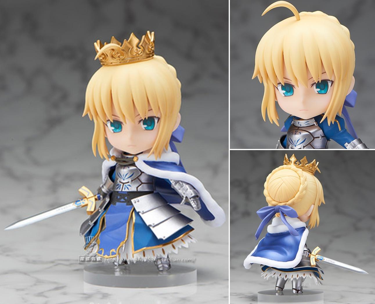 Nendoroid Fate Grand Order Saber/Altria Pendragon #600 PVC Figure Collection Model Toy 10cm KT3301 le fate топ