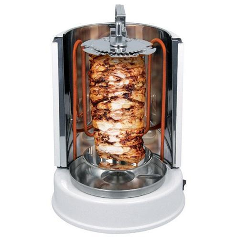 Image 3 - Wonderper Vertical Rotisserie Oven Electric Grill Countertop Oven Shawarma Machine Rotisserie Grill-in Rotisseries from Home Appliances