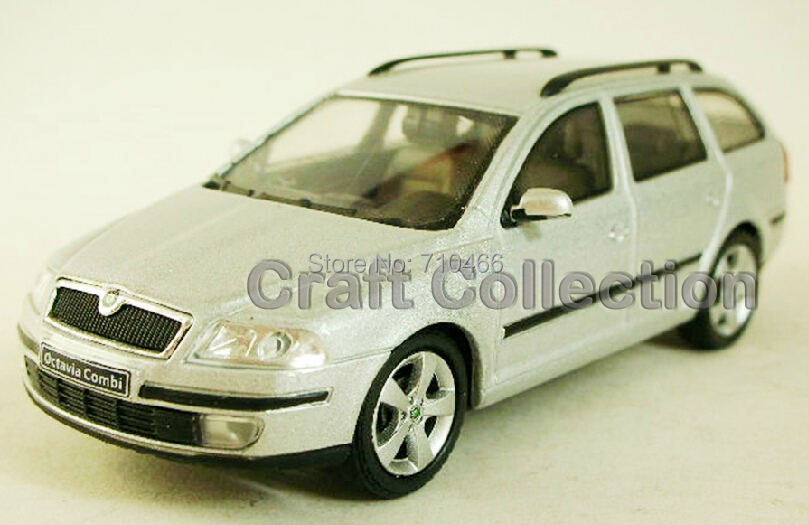 ФОТО 1:43 SKODA Octavia Combi  Travel Car Alloy Model Diecast Show Car Replica Model Car Kits