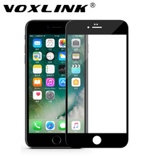 For iPhone 8 Plus Screen Protector,VOXLINK Crystal Clear Anti-Scratch 5D Tempered Glass Screen Protector for iPhone 7 Plus/8Plus