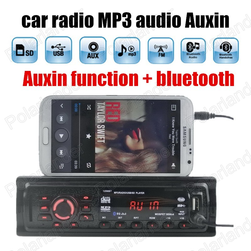 Best Selling Car Radio Stereo Player Bluetooth Auxin MP3