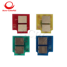 toner chip for HP CP6015/CM6030/CM6040CP aser printer compatible cartridge OEM remanfacture CB390A CB381A  CB383A CB382A