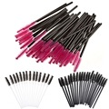 Hot Sale 100PCS Disposable Eyelash Brush Mascara Wands Applicator Spoolers Eye Lash Makeup Tool Make Up Brushes free ship