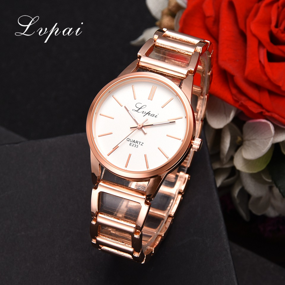 Luksuslik Vaata naiste kleit käevõru Watch mood kvartsi randme Watch naiste klassikaline Lvpai Brand Gold Ladies Business Watch