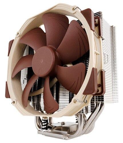 Noctua NH-U14S AMD processeur Intel refroidisseurs ventilateurs ventilateur de refroidissement contient des ventilateurs refroidisseur composé thermique LGA 1155X2011 1366 FM2 FM1