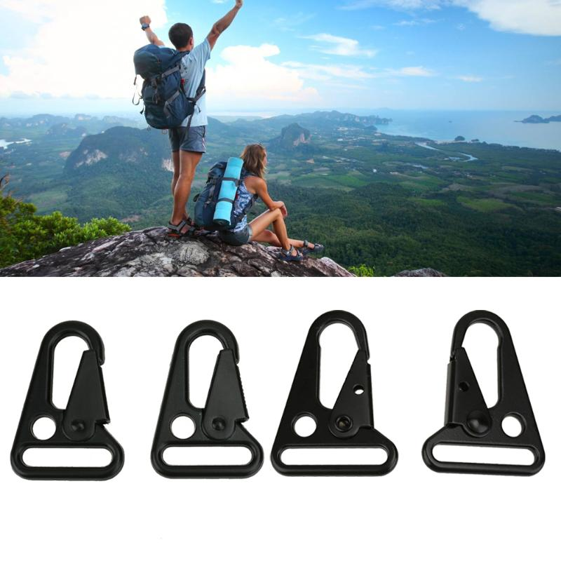 2pcs/set Hiking Backpack Olecranon Hooks Camping Survival Gear EDC Tactical Carabiner Military Mini Keychain Equipment