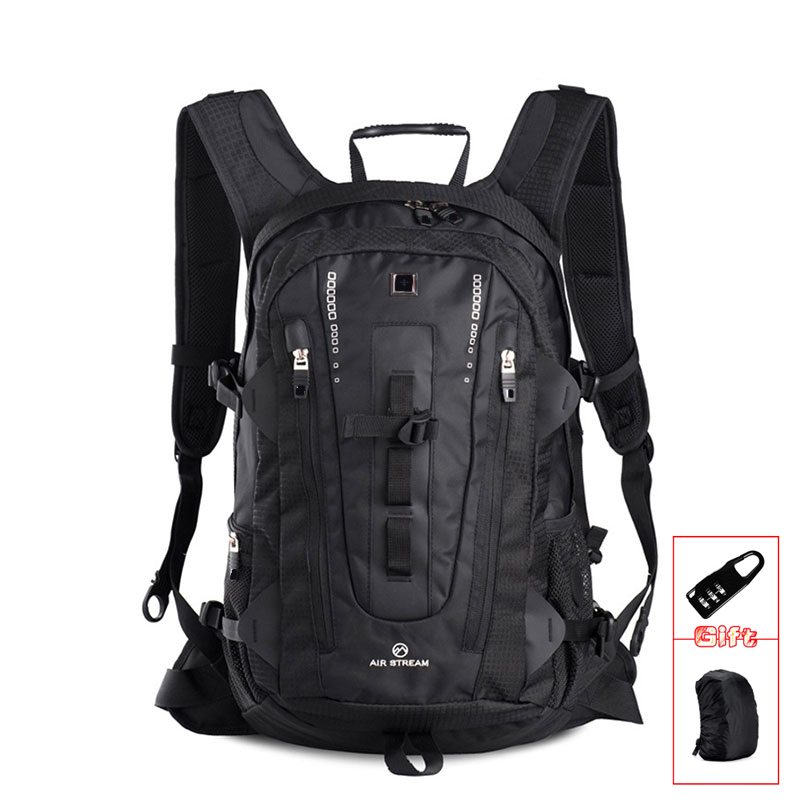 Lightweight 17 inch waterproof men Laptop Backpack 15.6-17.3 Inch Waterproof Travel Backpacks Computer bag College Men Women image